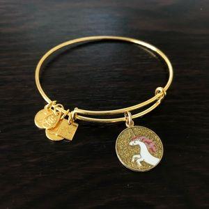 Alex and Ani Unicorn Bracelet